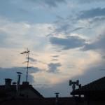 vista tetti cielo
